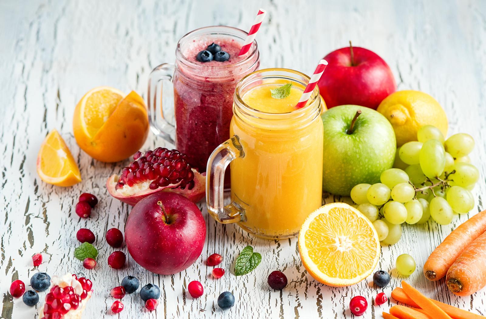 verse vruchtensappen